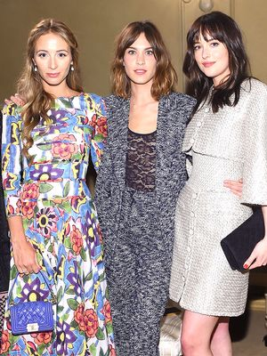 All the Best Front Row Looks From Last Night's Chanel Show