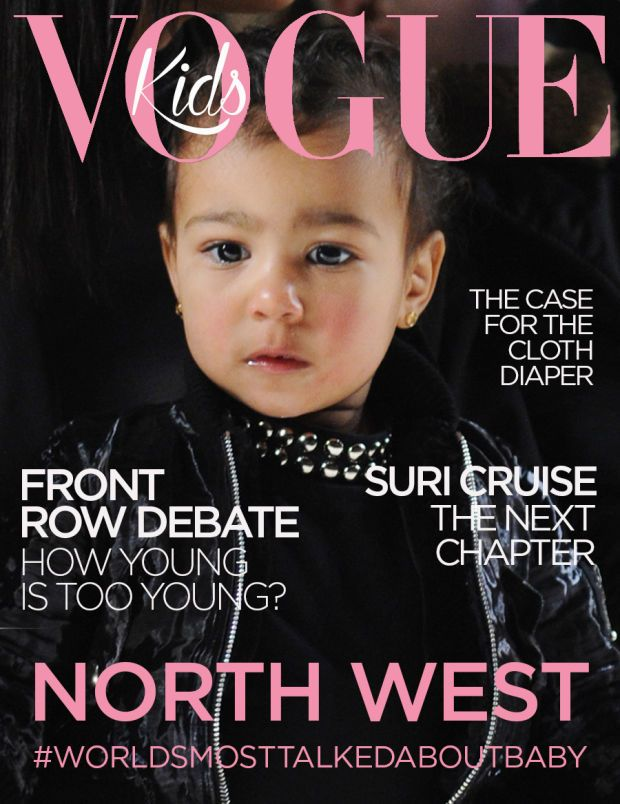 See North West's Fake Vogue Cover for April Fool's Day