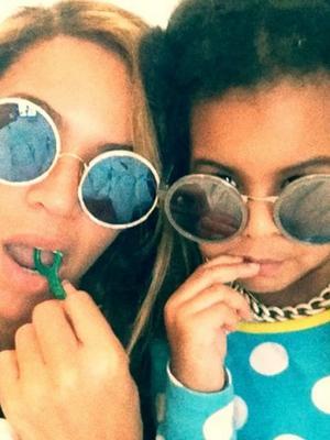 Found 'Em: Beyoncé and Blue Ivy's Adorable Matching Sunglasses