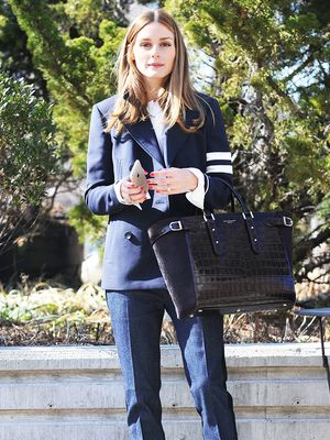 Olivia Palermo Just Gave Us the Perfect Work-to-Drinks Outfit Idea