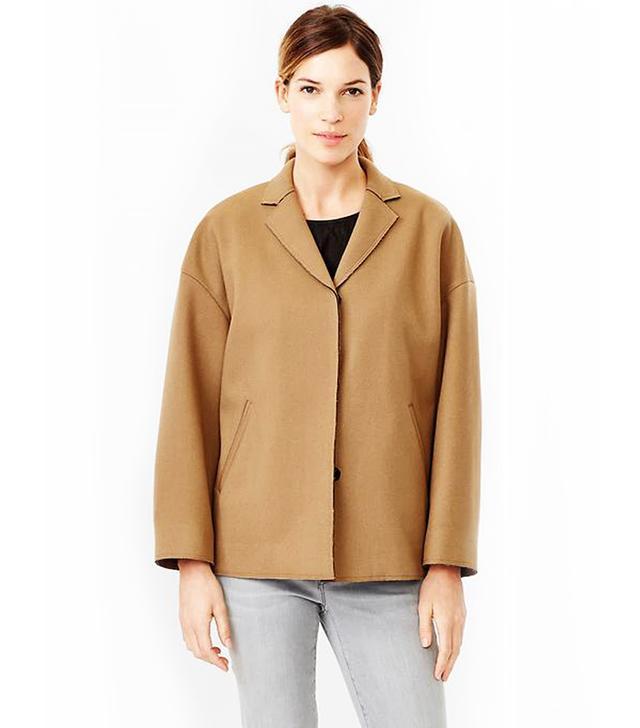Gap Drop-Shoulder Short Coat