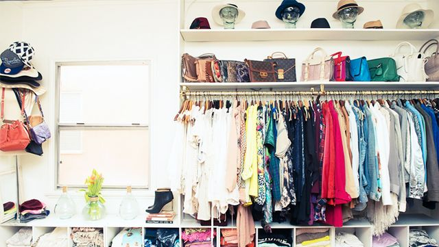 We all have them and we don't need them taking up precious closet space. Remove them and relish in the extra space.
