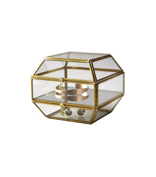 Anthropologie Dome Arca Jewelry Box