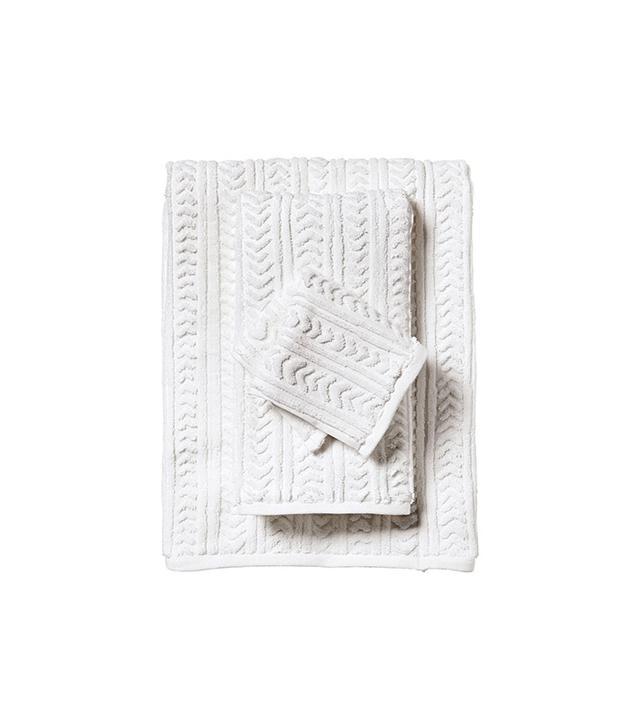 Serena & Lily Chevron Jacquard Bath Towels