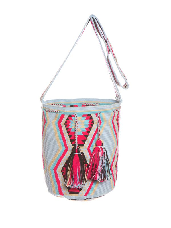 The Little Market Wayuu Mochila Bag