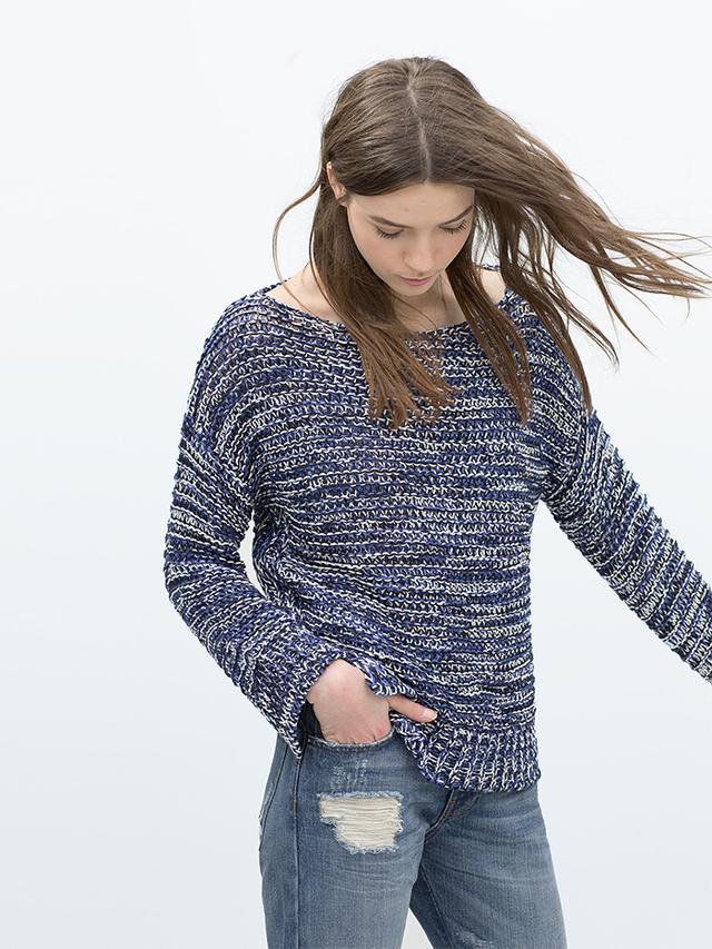 Zara Boat Neck Sweater