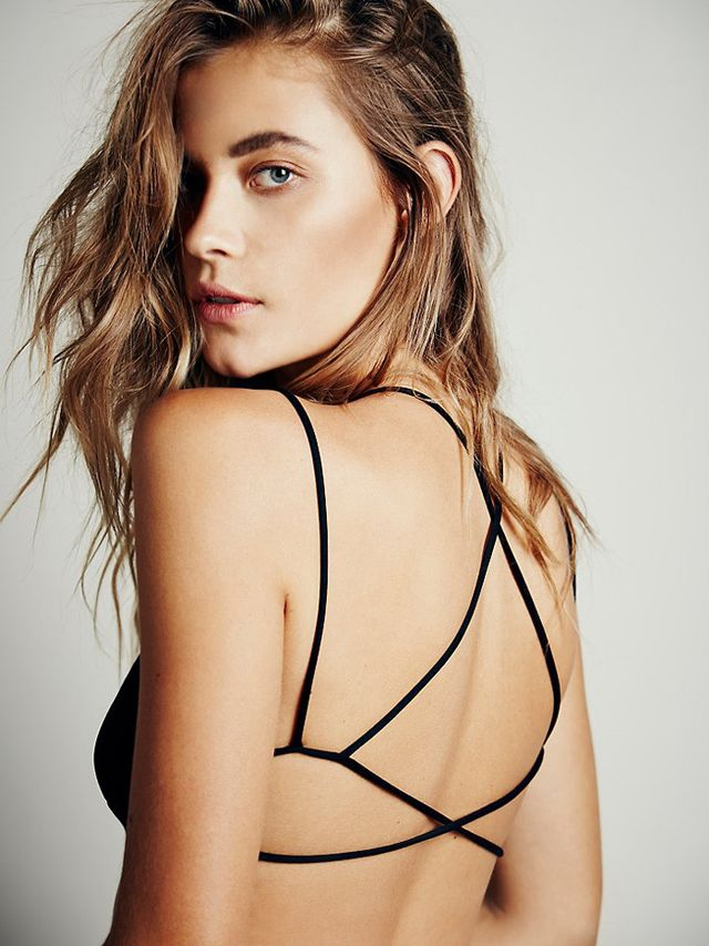 Free People Sunkissed Strappy Back Bra
