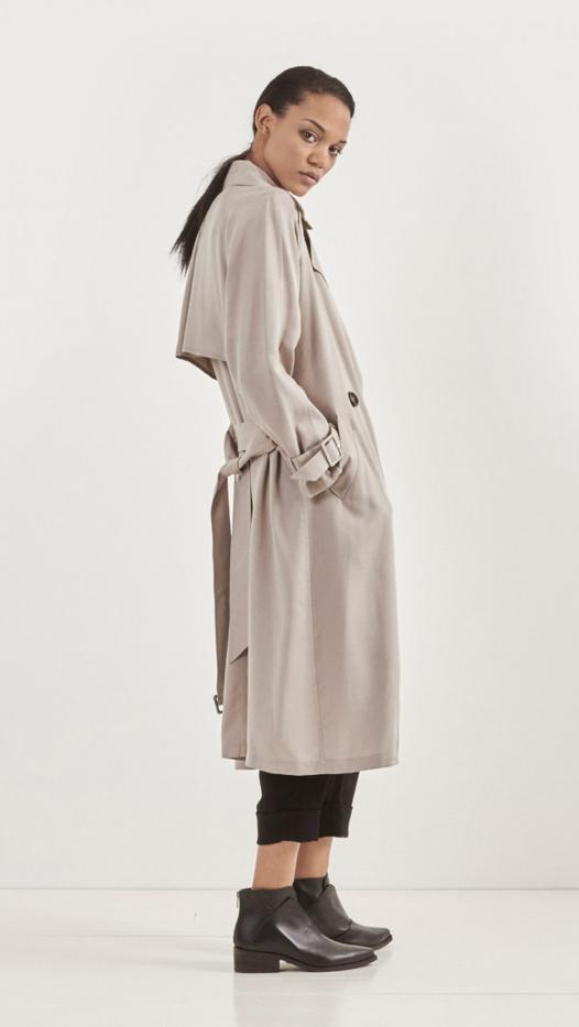 Mason by Michelle Mason Trench Coat