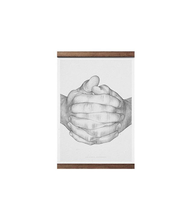 """""""Folded Hands"""" by Borge Brendenbekk"""