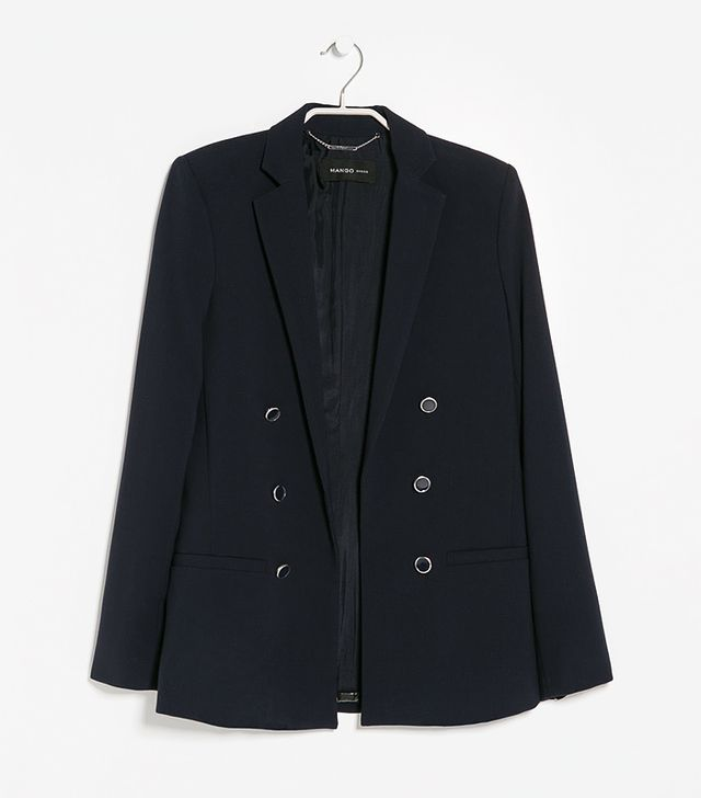 Mango Outlet Double Breasted Blazer