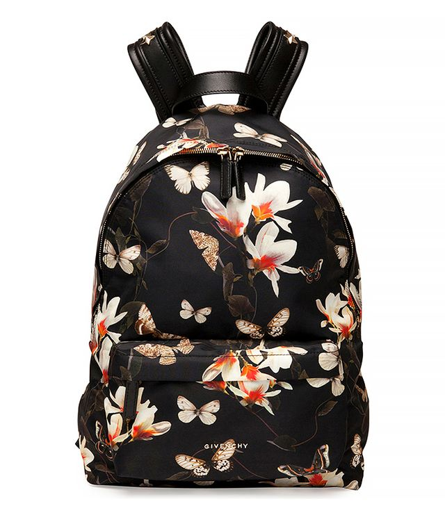 Givenchy Floral Butterfly Nylon Backpack