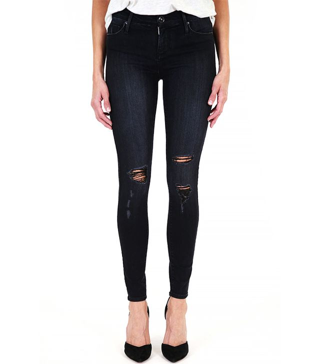 Black Orchid Noah Mid Rise Super Skinny Jeans