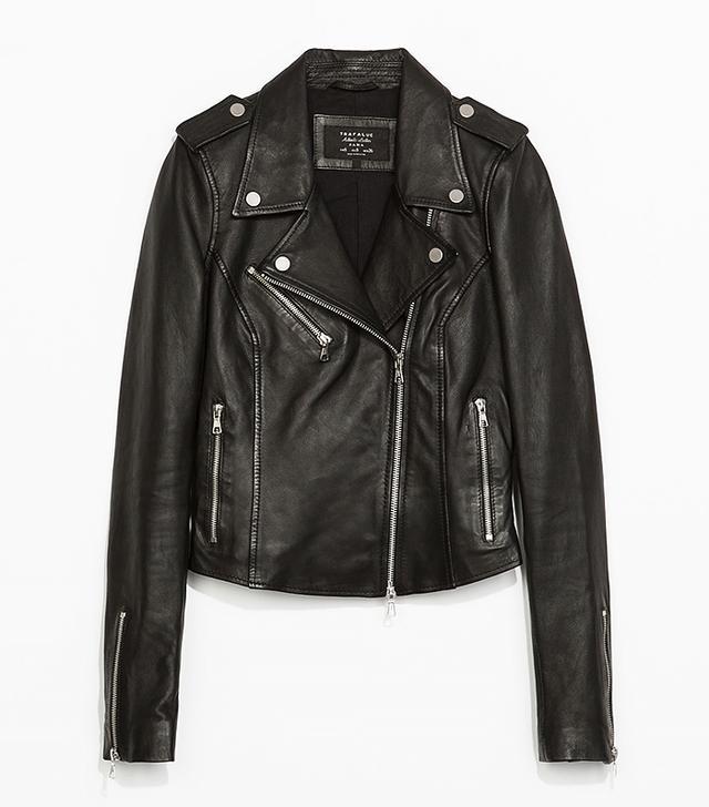 Zara Leather Bike Jacket