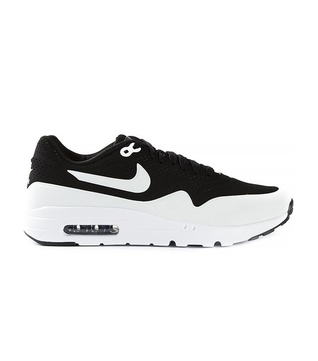 Nike Black Air Max 1 Ultra Moire Trainers