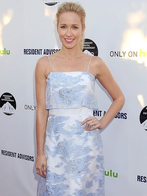 Anna Camp Inspires Our Easter Look with Beautiful Spring Dress