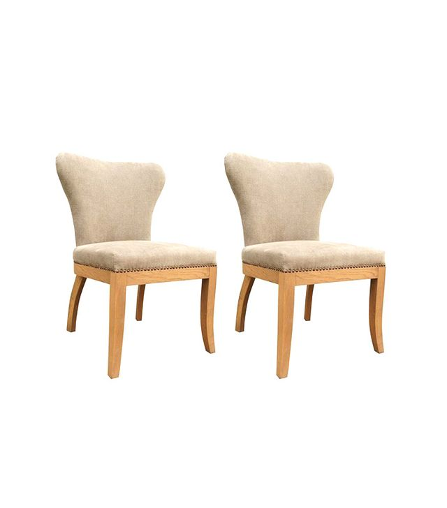One Kings Lane Greige Rodney Dining Chairs