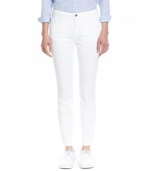 Closed Skinny Pusher White Bull Jeans