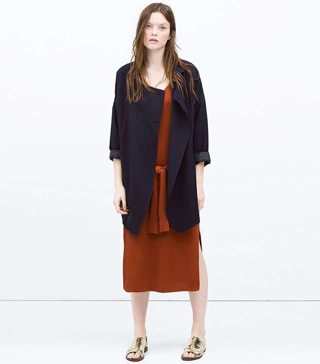 Zara Double-Breasted Jacket