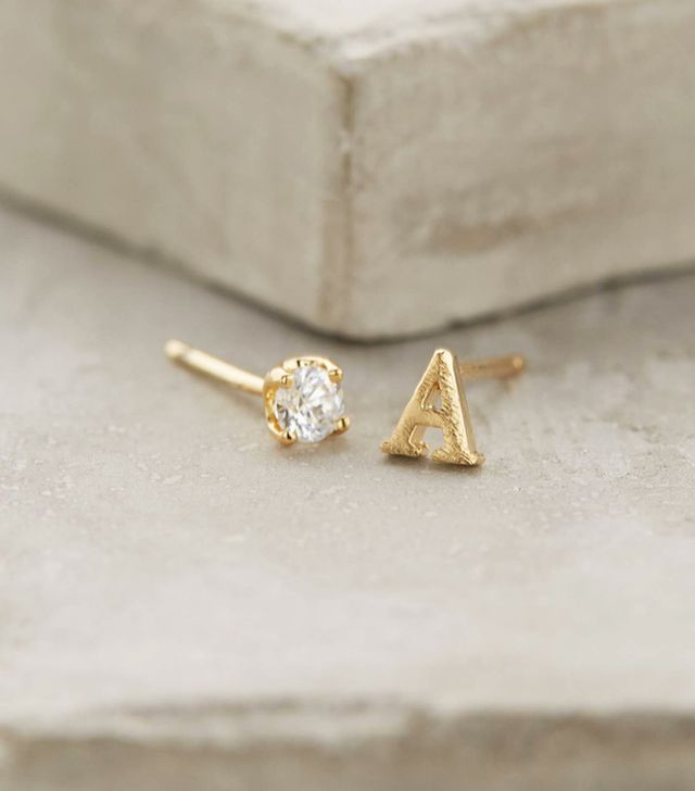 Anthropologie Letter & Stone Posts
