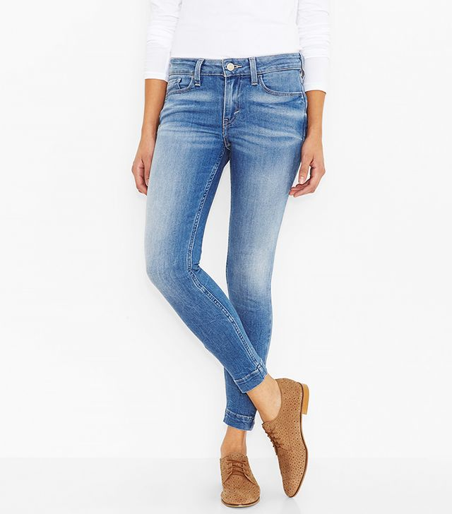 Levi's 535 Zipper Leggings
