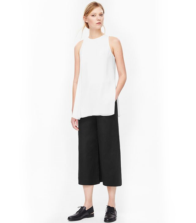 COS Layered Crepe Top