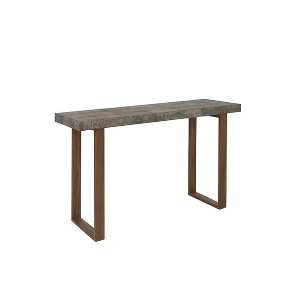 Plantation Backbone Faux Shagreen Console