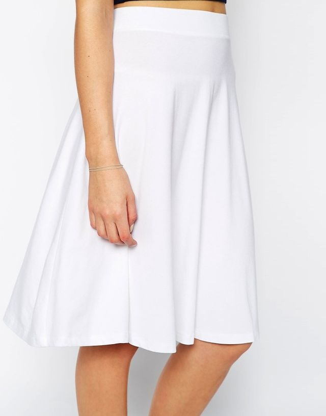 ASOS Circle Skirt in Jersey