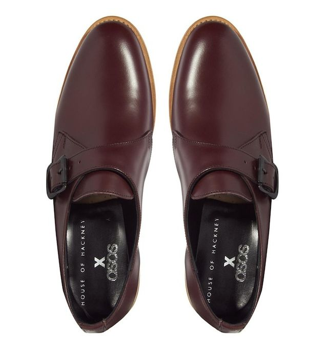 House Of Hackney Leather Monk Shoes