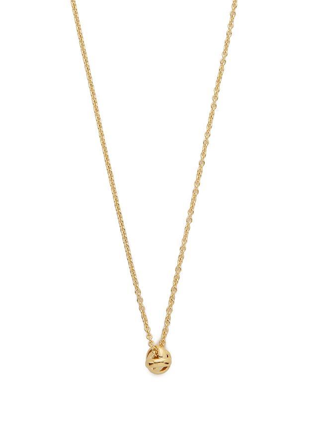 kate spade new york Dainty Sparklers Knot Pendant Necklace