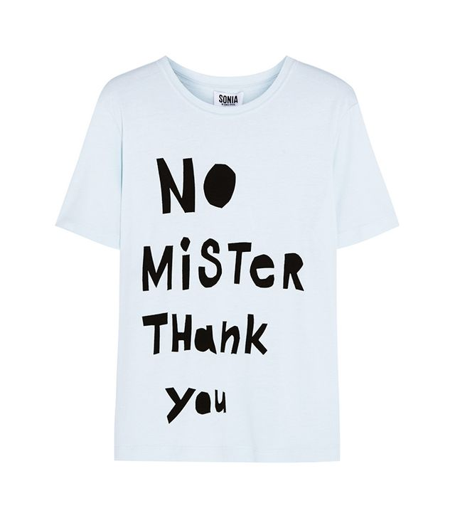 Sonia by Sonia Rykiel No Mister Thank You T-Shirt