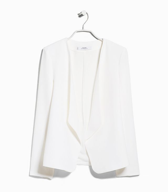 Mango Waterfall Structured Jacket