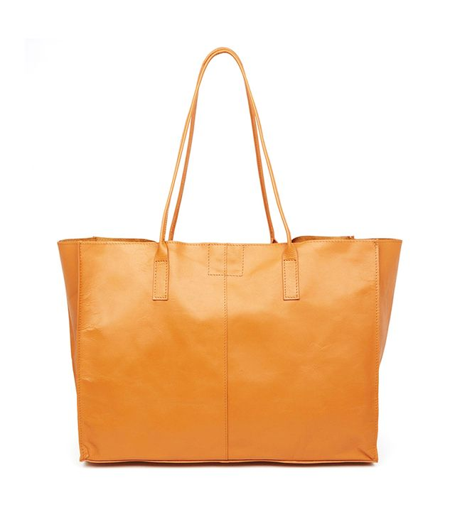ASOS Leather Shopper Bag