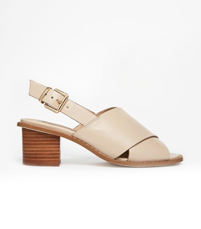 ASOS Heidi Wide-Fit Heeled Sandals