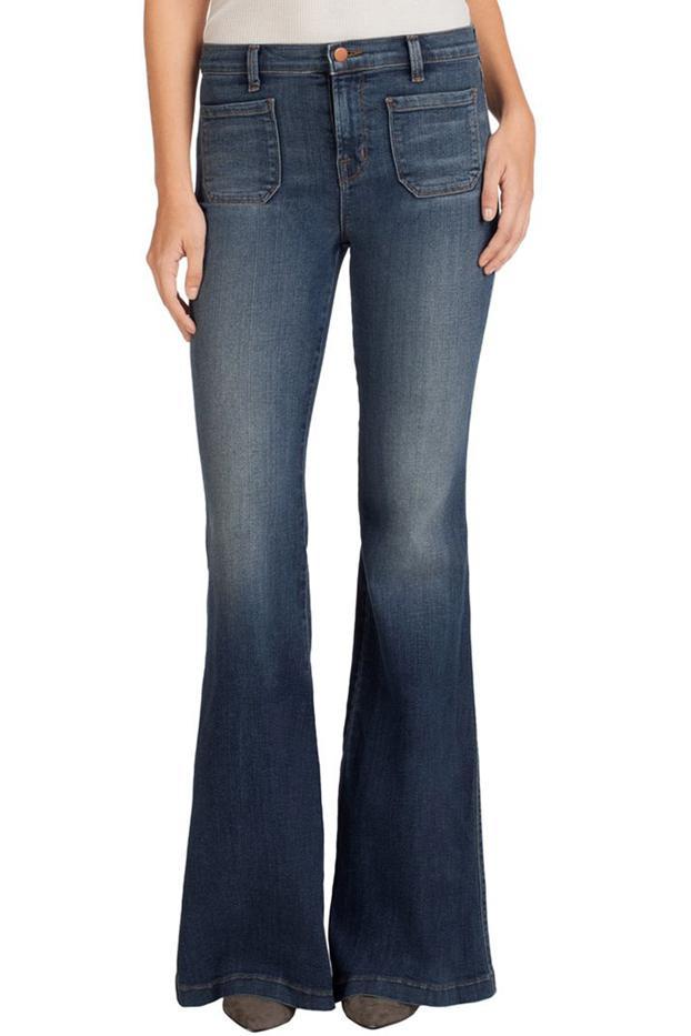 J Brand 802 Demi Flare Jeans