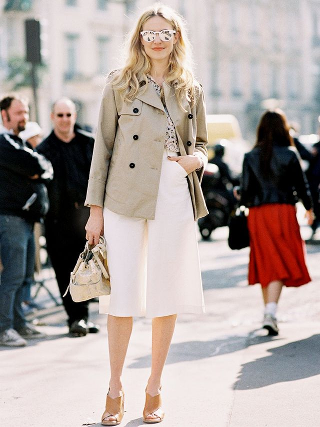 Proof You Need a Pair of Culottes This Spring