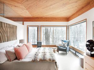 Home Tour: An Artful Aspen Cabin by Hillary Thomas