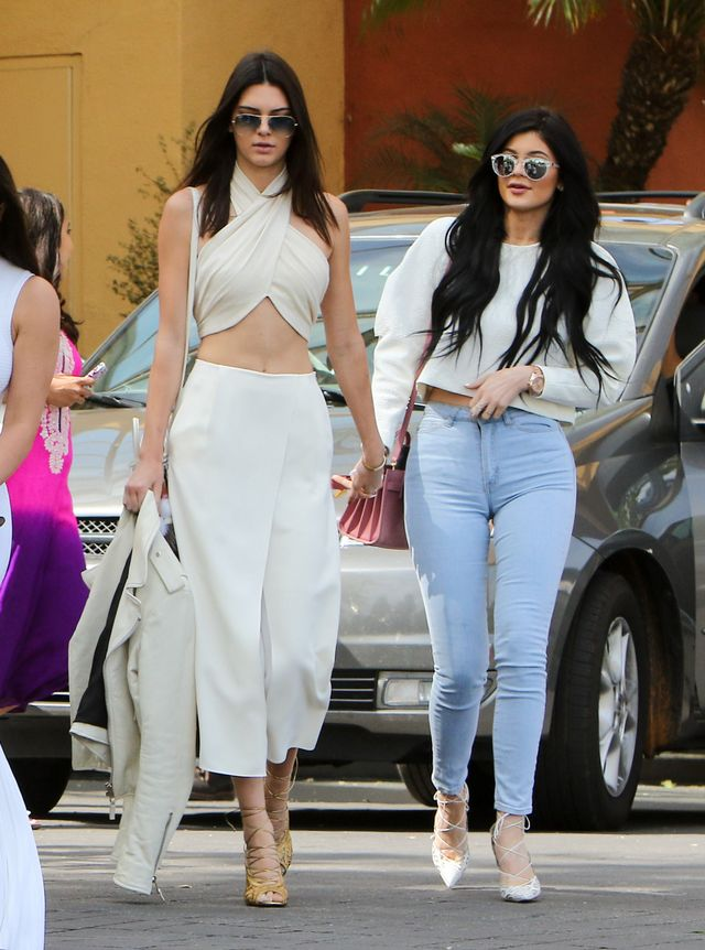 ICYMI: Kendall Jenner Wore a Super-Revealing Outfit to Easter Service