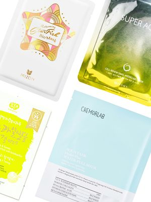 From Hydro-Gel to Sea Kelp: 7 New Sheet Masks, Straight from Korea