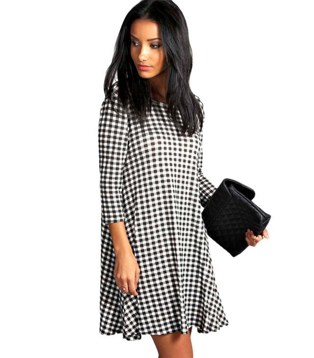 Boohoo Giovanna Low-Back Dress