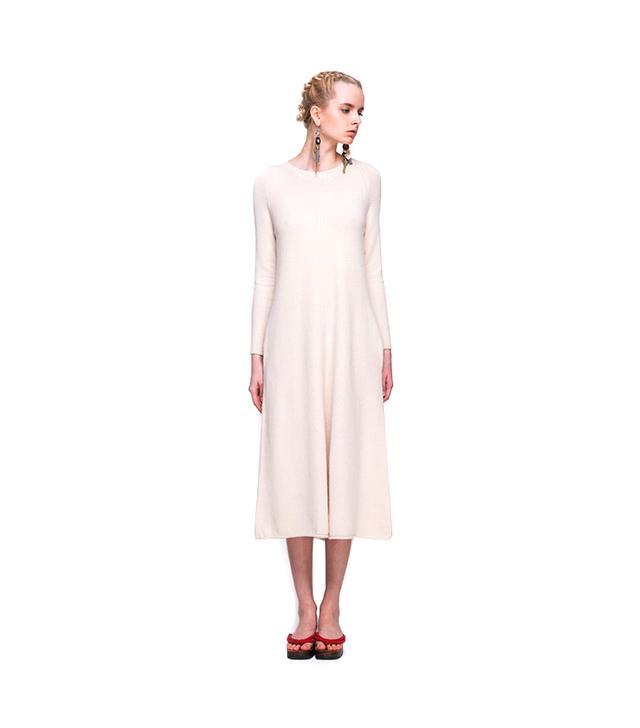 Front Row Shop Longline Knit Dress
