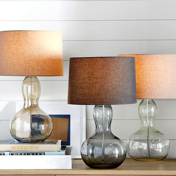 West Elm Gourd Table Lamp
