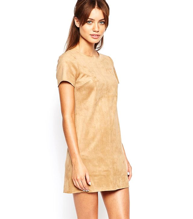 New Look Suedette Tunic Dress
