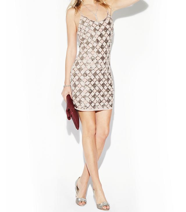 Daily Look Sequin Slip Dress