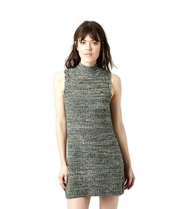 Topshop Tweedy Knit Dress