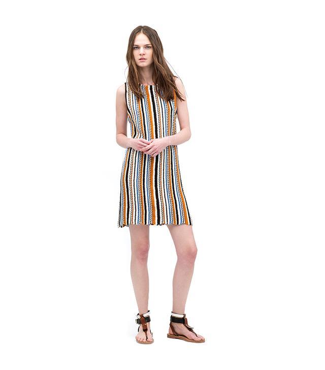 Zara Jacquard Knit Dress