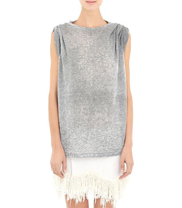 Isabel Marant Pin-Cinched Dewey T-Shirt