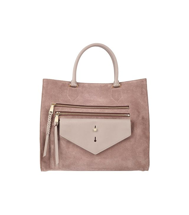Thakoon Downing Classic Shopper in Dusty Plum