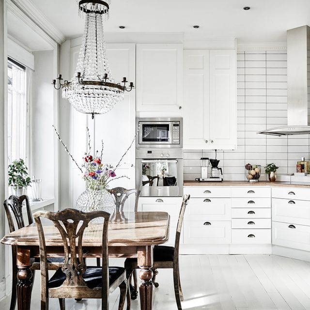 Tour a Feminine Home in Shades of Gray