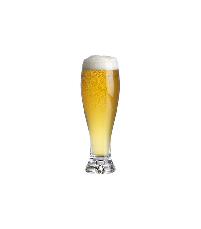Crate and Barrel Direction 17 oz. Pilsner Beer Glass