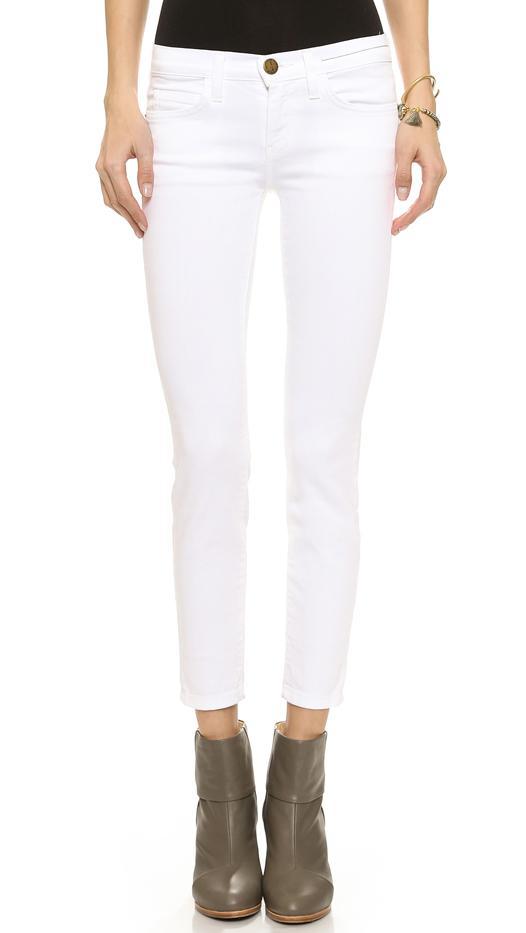 Current/Elliott White Stiletto Jeans